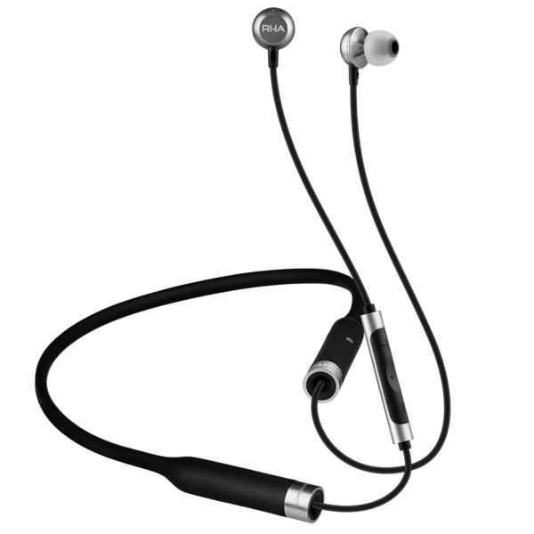 Беспроводные наушники RHA MA650 Wireless Black/Silver наушники внутриканальные rha s500