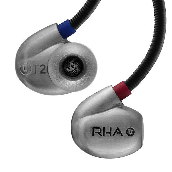 Внутриканальные наушники RHA T20 NW Silver наушники внутриканальные rha s500