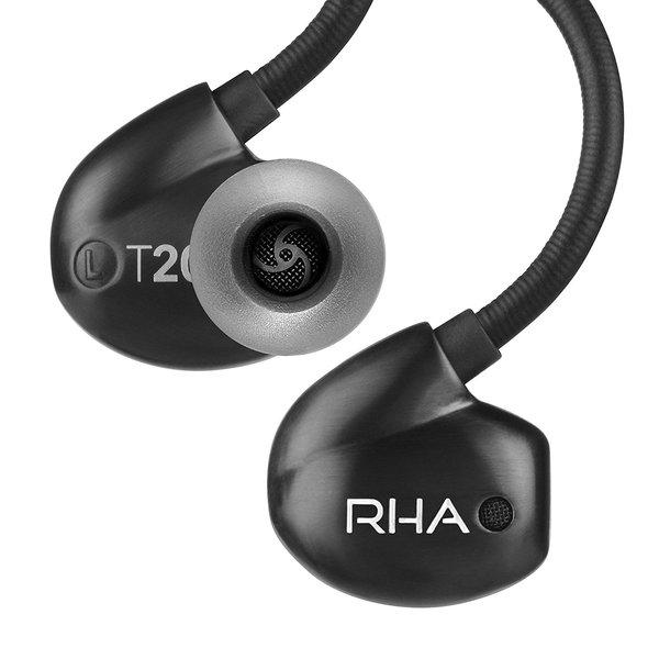 Внутриканальные наушники RHA T20i NW Black наушники внутриканальные rha s500