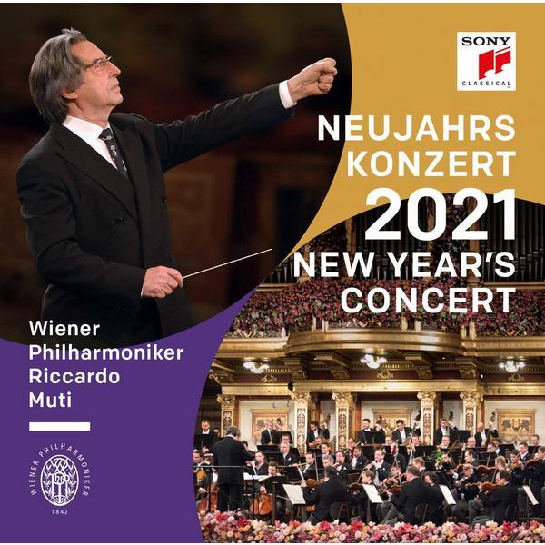Riccardo Muti Wiener Philharmoniker - Neujahrskonzert 2021 / New Years Concert (3 LP)