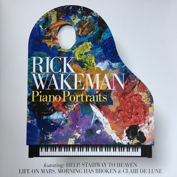 Rick Wakeman Rick Wakeman - Piano Portraits (2 LP) rick wakeman rick wakeman the six wives of henry viii