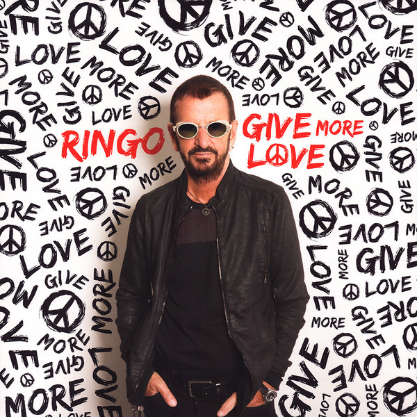 Ringo Starr Ringo Starr - Give More Love single sale band figure john winston lennon paul mccartney george harrison ringo starr building blocks models toys