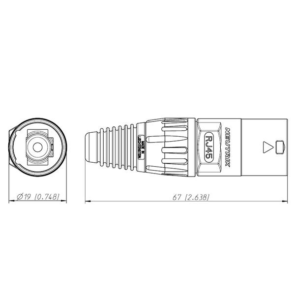 Разъем RJ45 Neutrik от Audiomania