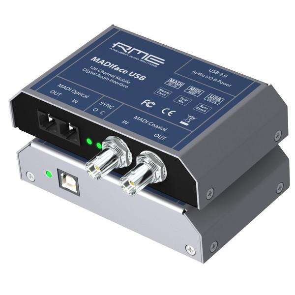 Внешняя студийная звуковая карта RME MADIface USB внешняя студийная звуковая карта rme alva nanoface