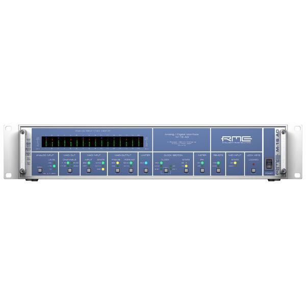 Контроллер/Аудиопроцессор RME M-16 AD контроллер аудиопроцессор genelec 9301a