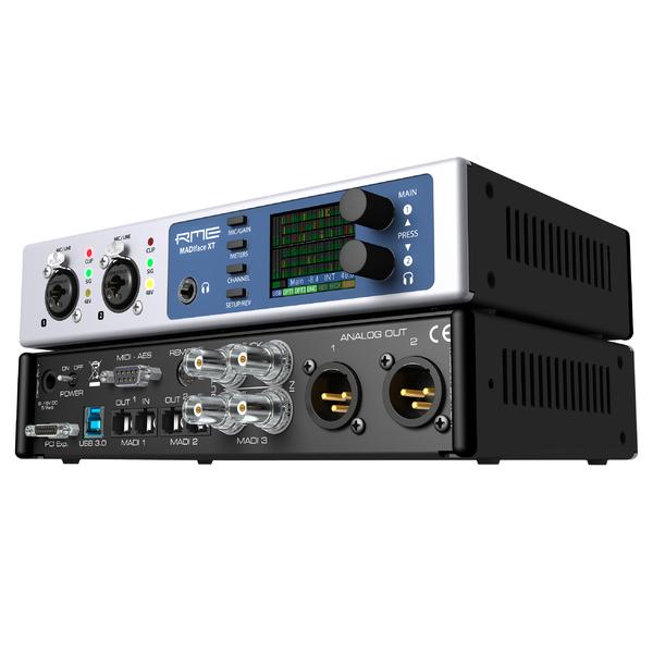 Внешняя студийная звуковая карта RME MADIface XT внешняя студийная звуковая карта rme alva nanoface
