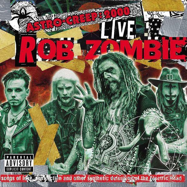 Rob Zombie Rob Zombie - Astro Creep 2000 Live худи print bar space zombie
