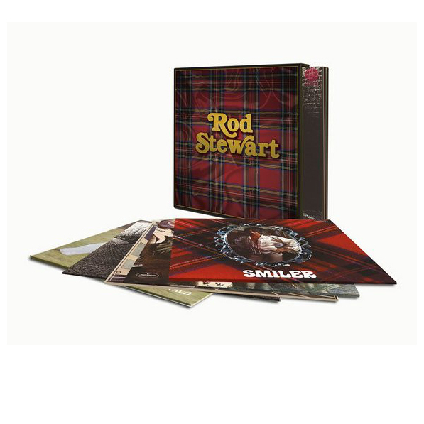 Rod Stewart Rod Stewart - Rod Stewart Albums (5 Lp Box) aluminum alloy handmade truss rod cover for sg lp guitar