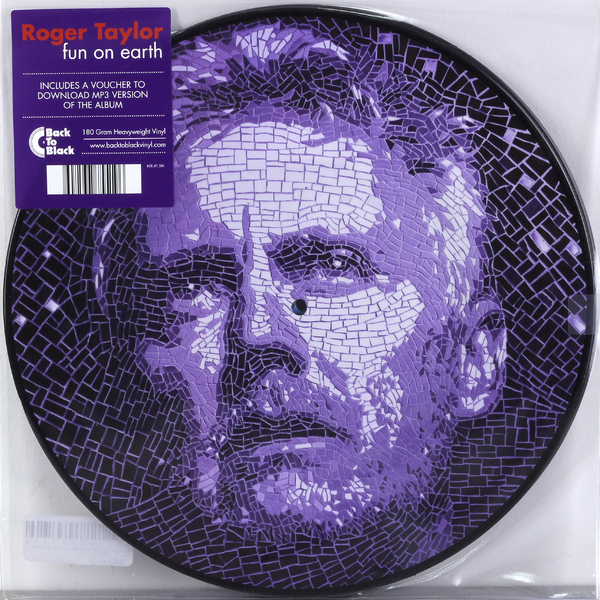 Roger Taylor Roger Taylor - Fun On Earth (picture) (2 LP) roger taylor roger taylor fun on earth picture 2 lp