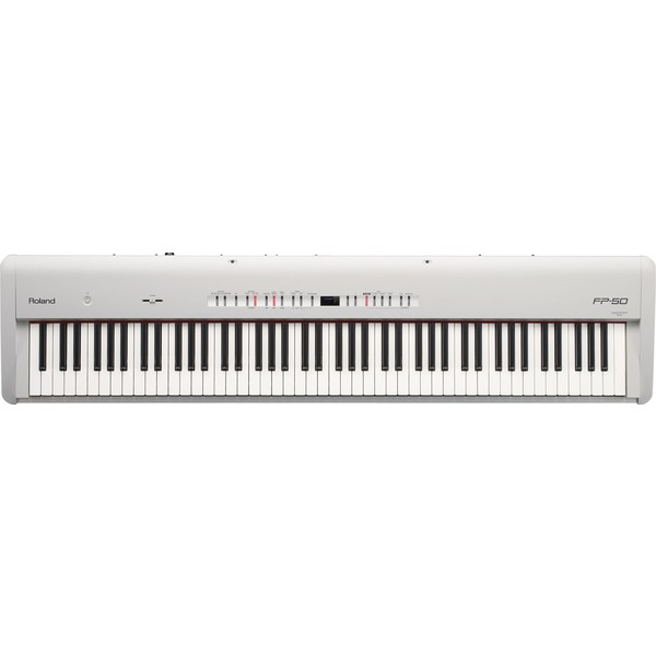 Цифровое пианино Roland FP-50-WH цифровое пианино roland rp501r cr