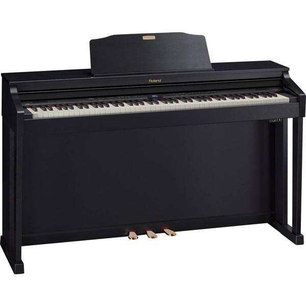 Цифровое пианино Roland HP504-CB рама и стойка для электронной установки roland mds 4v drum rack