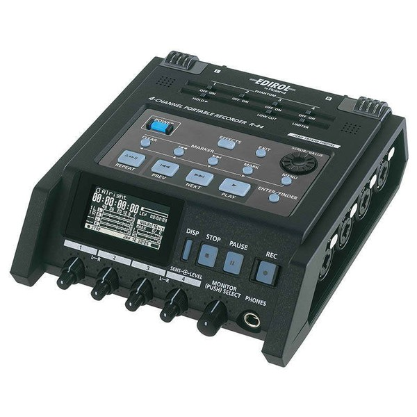 Профессиональный рекордер Roland R-44-E r e m r e m accelerate cd dvd