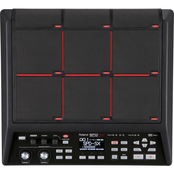 Сэмплер Roland SPD-SX хай хэт и контроллер для электронной ударной установки roland fd 9 hi hat controller pedal