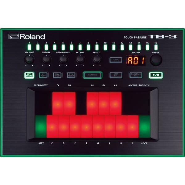 Синтезатор Roland TB-3 синтезатор roland jd xa