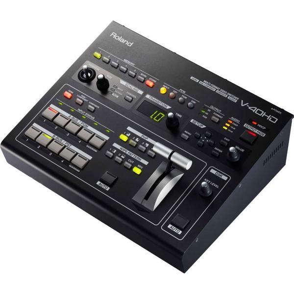 Аксессуар для концертного оборудования Roland Видеомикшер V-40HD