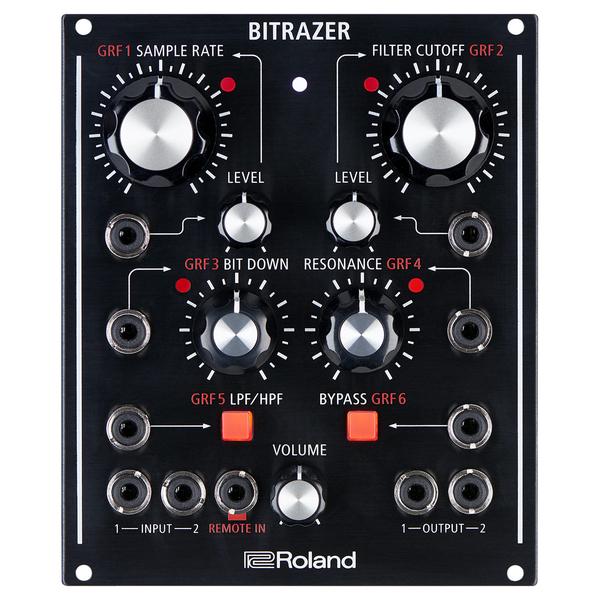 Процессор эффектов Roland BITRAZER рама и стойка для электронной установки roland mds 4v drum rack