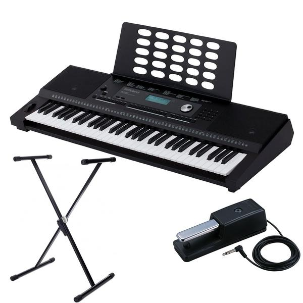 Синтезатор с аксессуарами Roland E-X20 Black (Bundle 2)