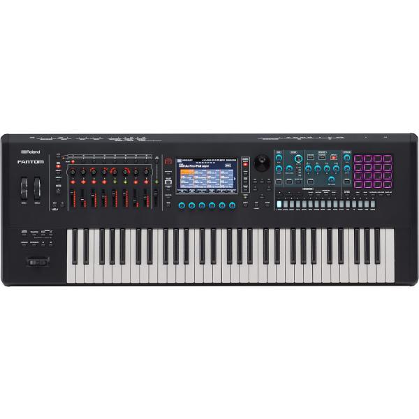 Синтезатор Roland Fantom-6 Black синтезатор roland jd xi