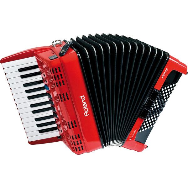 Цифровой аккордеон Roland FR-1X-RD самокат 3 х колесный amigo viper sport фиолетовый