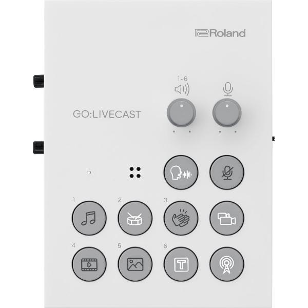 Мобильный аудиоинтерфейс Roland GO:LIVECAST