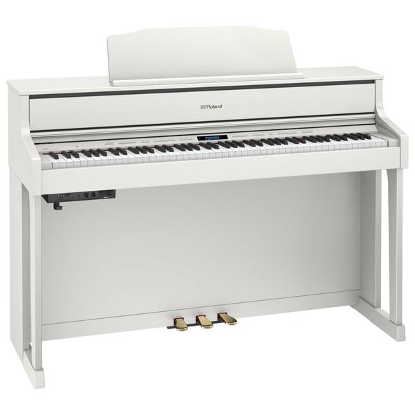 Цифровое пианино Roland HP605-WH цифровое пианино roland rp501r wh