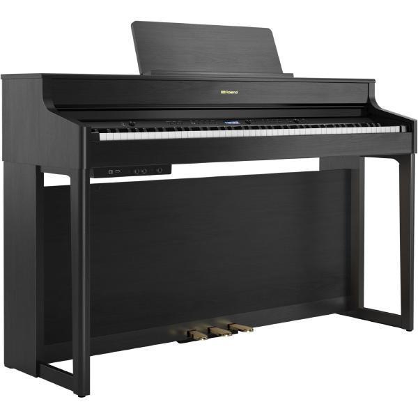 Цифровое пианино Roland HP702 Charcoal Black