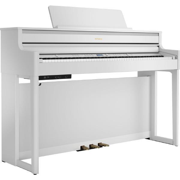 Цифровое пианино Roland HP704 White