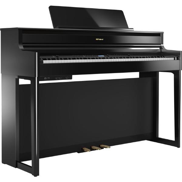 Цифровое пианино Roland HP704 Polished Ebony