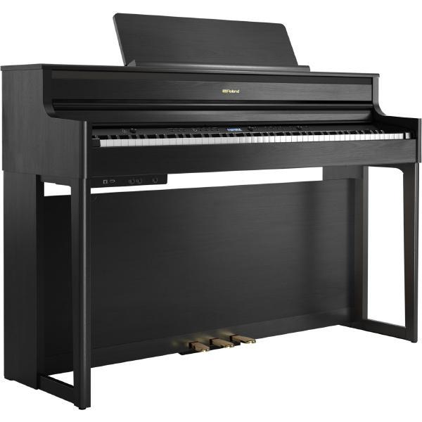 Цифровое пианино Roland HP704 Charcoal Black
