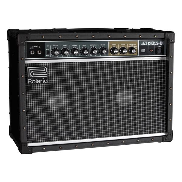 Гитарный комбоусилитель Roland JC-40 клавишный комбоусилитель roland kc 150usd