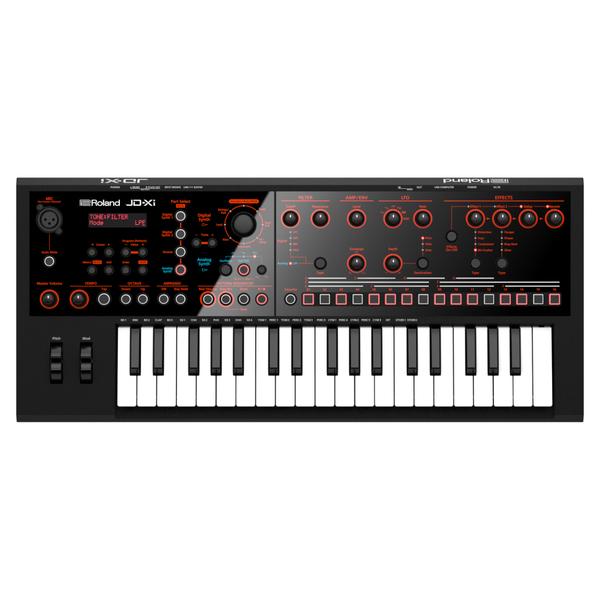 Синтезатор Roland JD-Xi рама и стойка для электронной установки roland mds 4v drum rack
