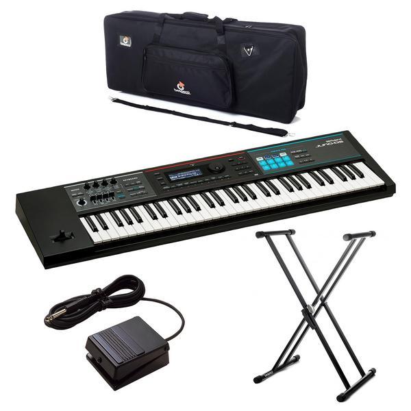 Синтезатор с аксессуарами Roland JUNO-DS61 Black (Bundle 2)