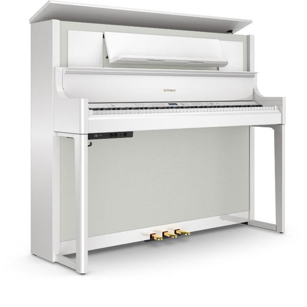 Цифровое пианино Roland LX708-PW цифровое пианино roland kf 10 kw kiyola