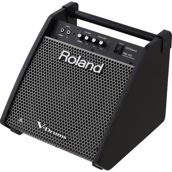 Аксессуар для электронных барабанов Roland Монитор для барабанщика PM-100 аксессуар для электронных барабанов yamaha стул для барабанщика ds550u