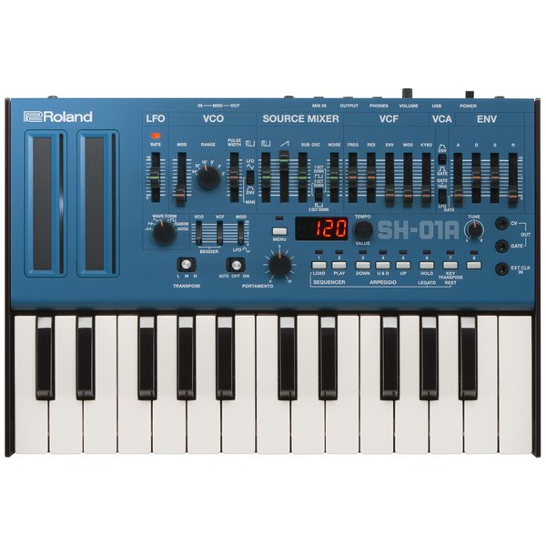 Синтезатор Roland SH-01A-BU вокальный процессор roland vp 03