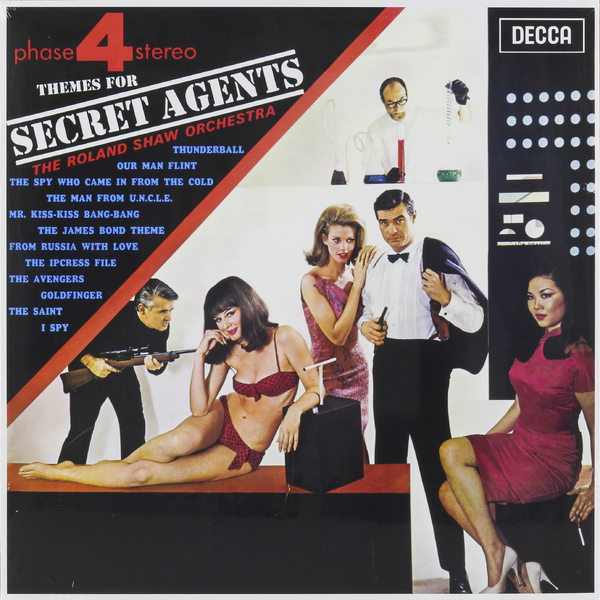 Roland Shaw Orchestra Roland Shaw Orchestra - Themes For Secret Agents ink sac for roland mutoh epson mimaki
