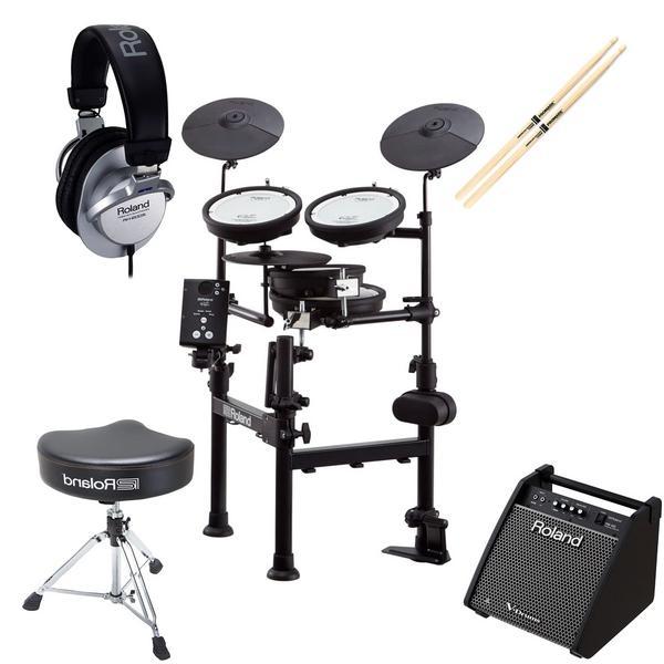 Электронные барабаны с аксессуарами Roland TD-1KPX2 (Bundle 1)