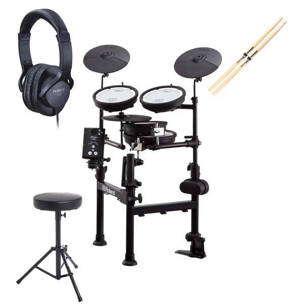 Электронные барабаны с аксессуарами Roland TD-1KPX2 (Bundle 2)