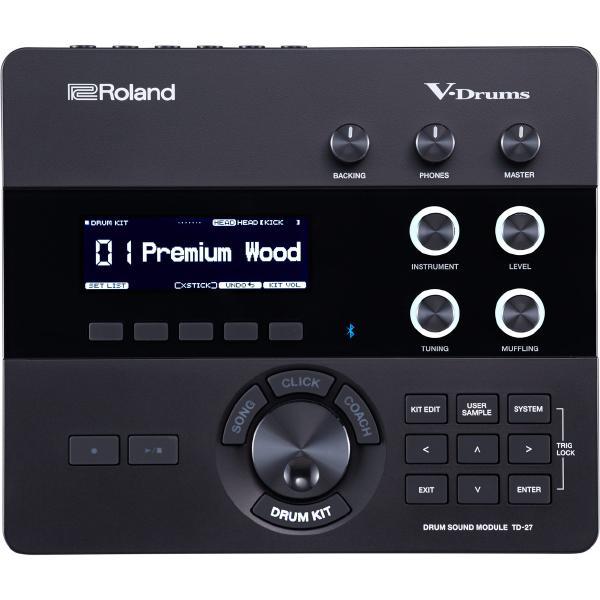 Электронные барабаны Roland Барабанный модуль TD-27
