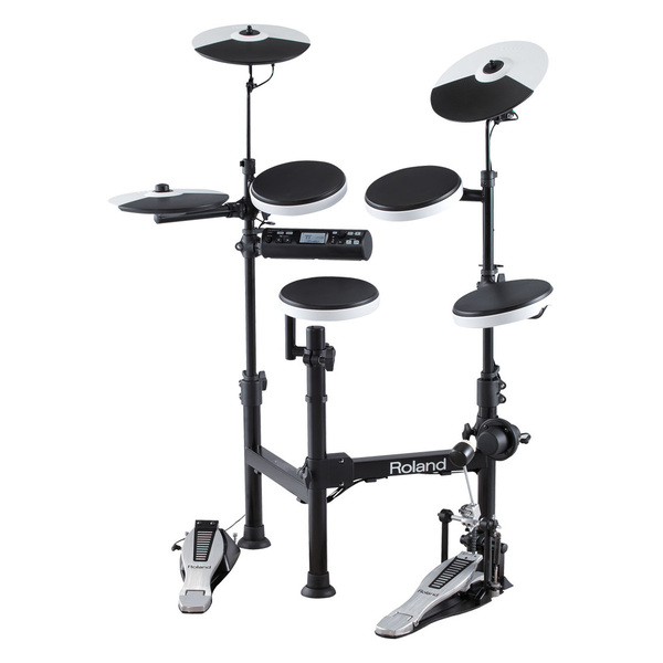 Электронные барабаны Roland TD-4KP хай хэт и контроллер для электронной ударной установки roland fd 9 hi hat controller pedal