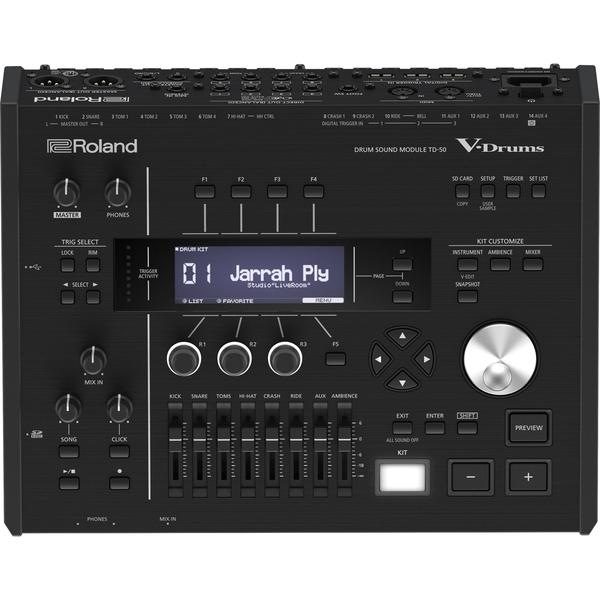 Электронные барабаны Roland Барабанный модуль TD-50