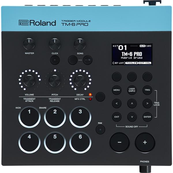Электронные барабаны Roland Барабанный модуль TM-6 PRO