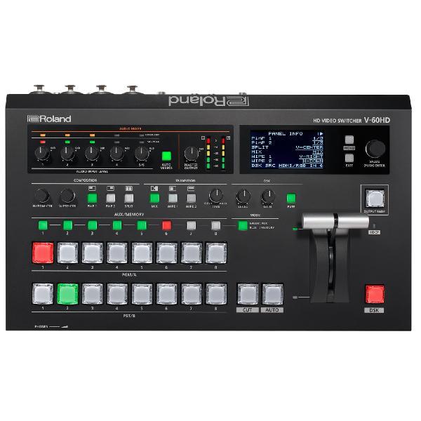 Аксессуар для концертного оборудования Roland Видеомикшер V-60HD