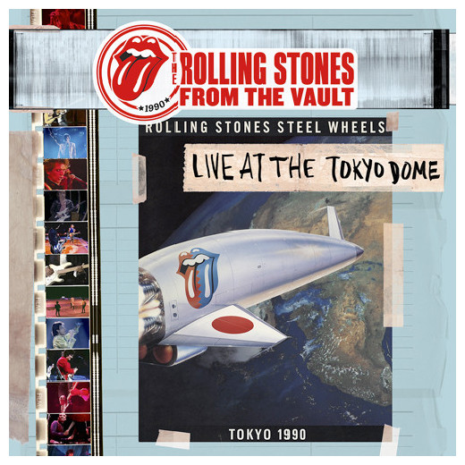 Rolling Stones Rolling Stones - From The Vault Tokyo Dome Live In 1990 (4 Lp + Dvd) dvd диск igor moisseiev ballet live in paris 1 dvd