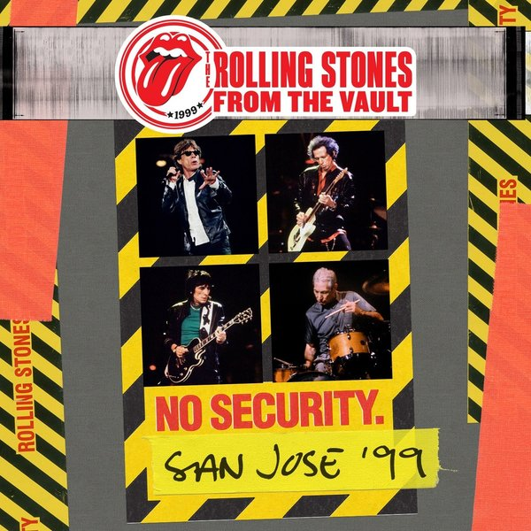 Rolling Stones Rolling Stones - From The Vault: No Security - San Jose 1999 (3 LP) new stepping stones coursebook global no 3 new stepping stones