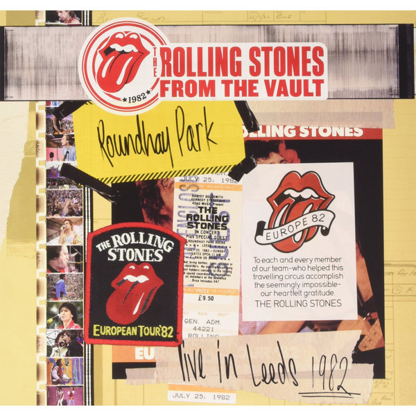 Rolling Stones Rolling Stones - Live In Leeds 1982 (3 Lp + Dvd) throwing stones in jest