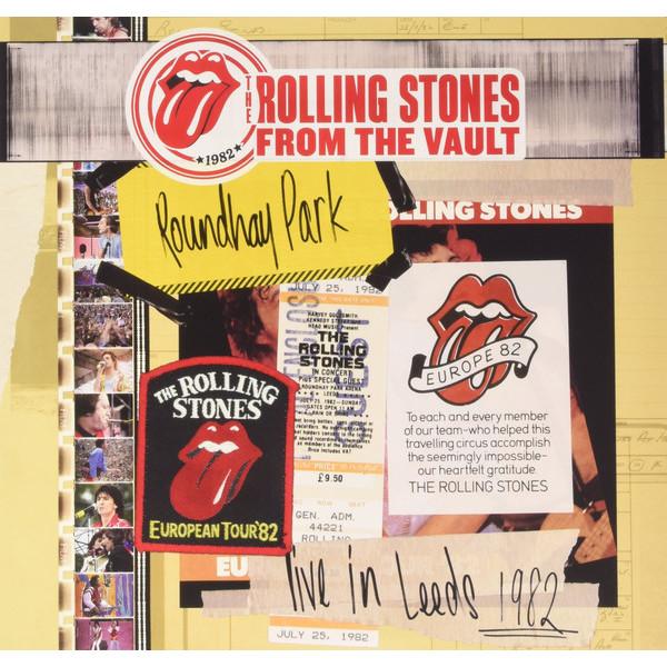 Rolling Stones Rolling Stones - Live In  Leeds 1982 (3 Lp + Dvd) the rolling stones from the vault live in leeds 1982 blu ray