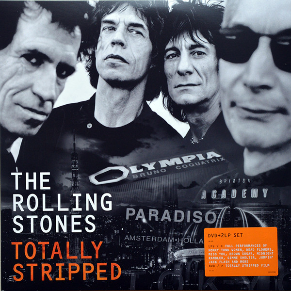 Rolling Stones Rolling Stones - Totally Stripped (2 Lp + Dvd) лонгслив printio voldemort x rolling stones