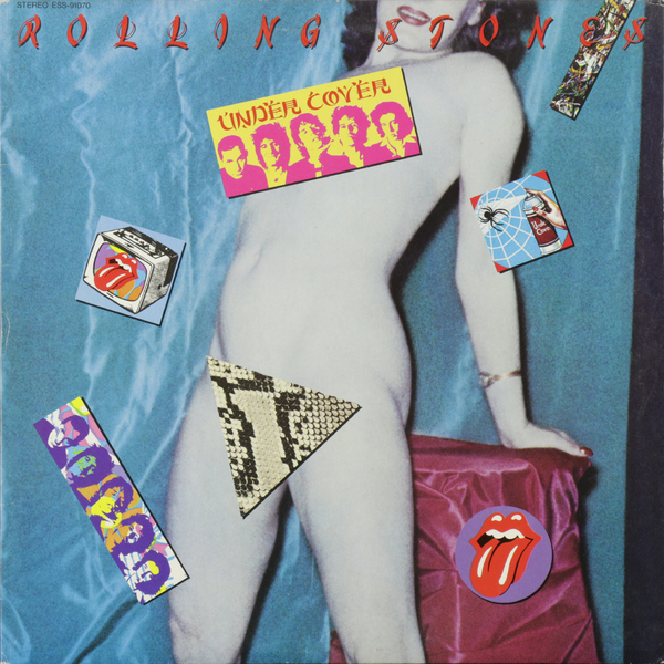 Rolling Stones Rolling Stones - Under Cover (japan Original. 1st Press) (винтаж) [sa] new japan genuine original sunx sensor fx4n a3r spot 2pcs lot