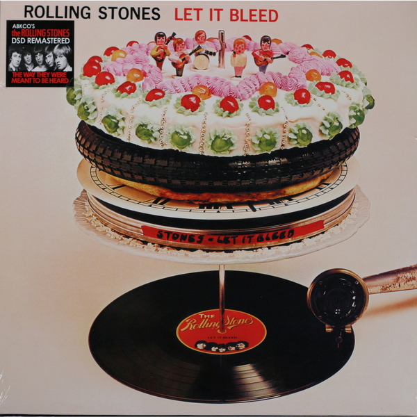 Rolling Stones Rolling Stones - Let It Bleed rolling stones rolling stones exile on main street 2 lp